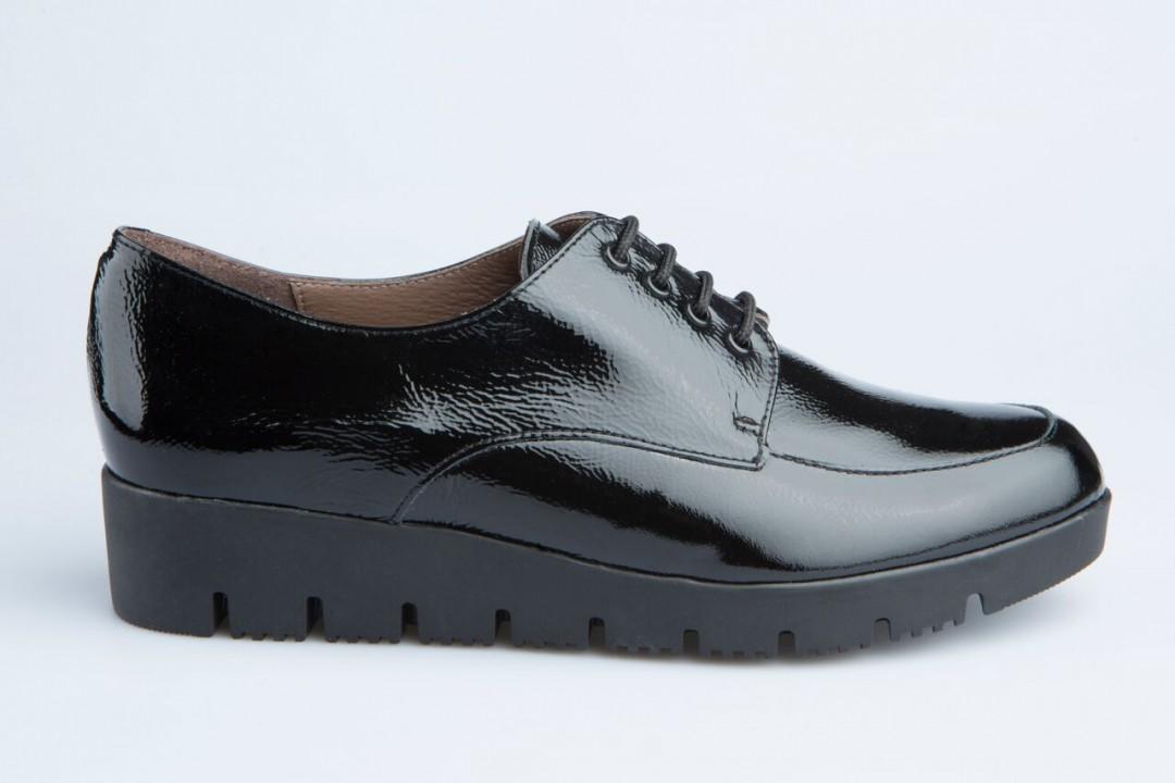 zapato blucher de piel charol