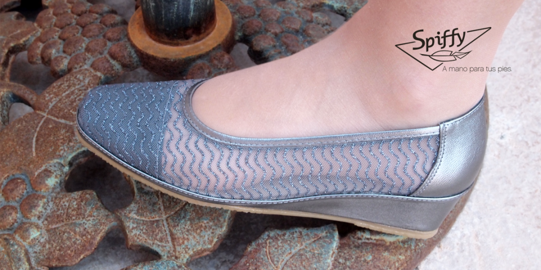 zapato hecho en españa colores metalizados