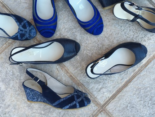 sandalias de piel